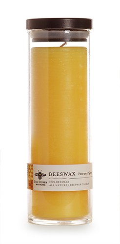 Pure Beeswax Sanctuary Glass