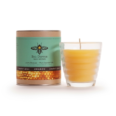 Beeswax Aromatherapy Beehive Glass
