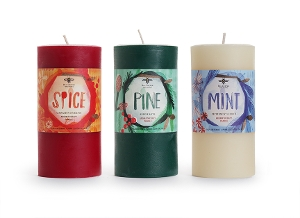 Holiday 3 x 6 Pillars - SECONDS 20% Off!