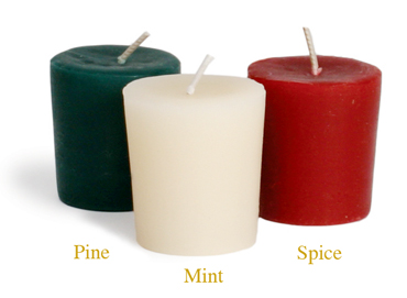 Holiday Aromatherapy Votives