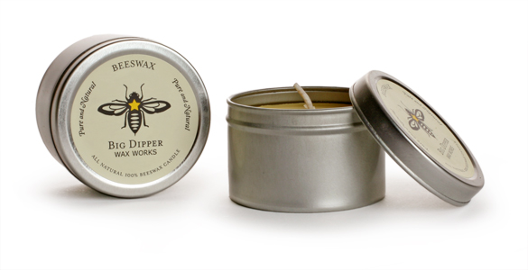 Pure Beeswax Tins