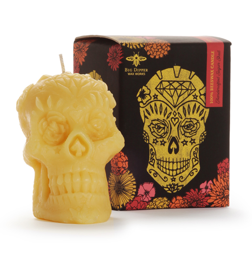 Beeswax Sugar Skull - Seconds 25% OFF!
