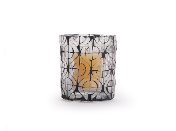 Aureole Mosaic Votive Holder - Circlet