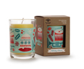 Beeswax Aromatherapy Holiday Blend Glass