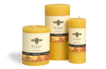 "3"" X 6"" Beeswax Pillars-CLEARANCE 30% Off!"