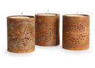 Cinnamon Bark Votive Holders
