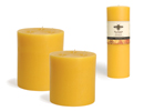 Giant Pure Beeswax Pillars