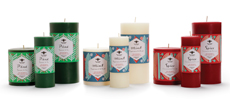 Holiday Aromatherapy Pillars