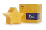 Beeswax Star Pillar
