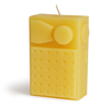 Beeswax Transistor Radio Candle
